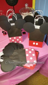 minnie favor bags